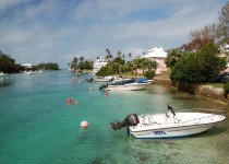 Bermuda - Flatts village
